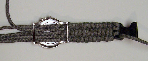 Make a Paracord Watch
