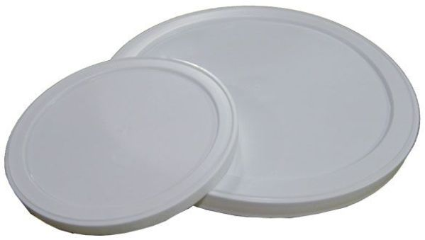 #10 Can White Plastic Replacement Lid