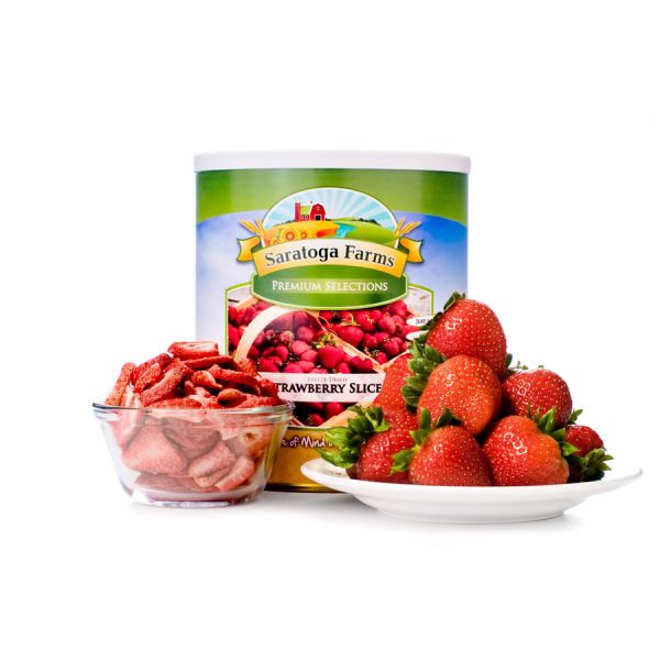 2 PACK - Saratoga Farms Freeze Dried Strawberries