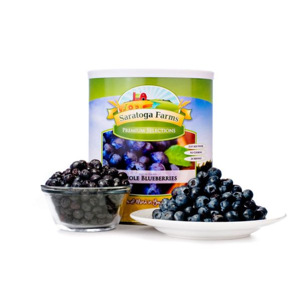 2 PACK - Saratoga Farms Freeze Dried Blueberries