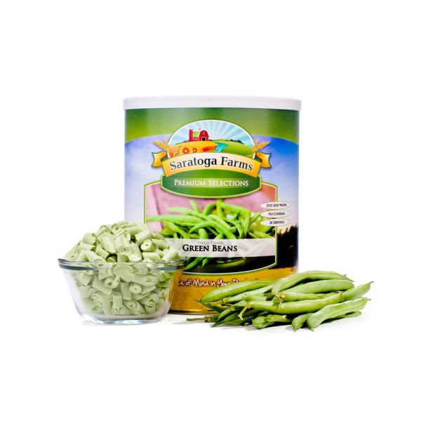 2 PACK - Saratoga Farms Freeze Dried Green Beans