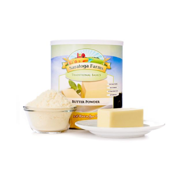4 PACK - Saratoga Farms Powdered Butter
