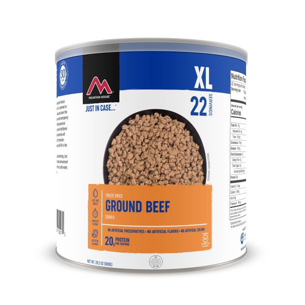 Mountain House Ground Beef