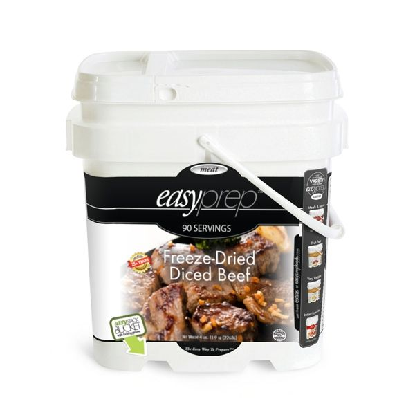 EasyPrep Freeze-Dried Beef Bucket