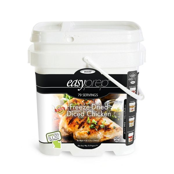 EasyPrep Freeze-Dried Chicken Bucket