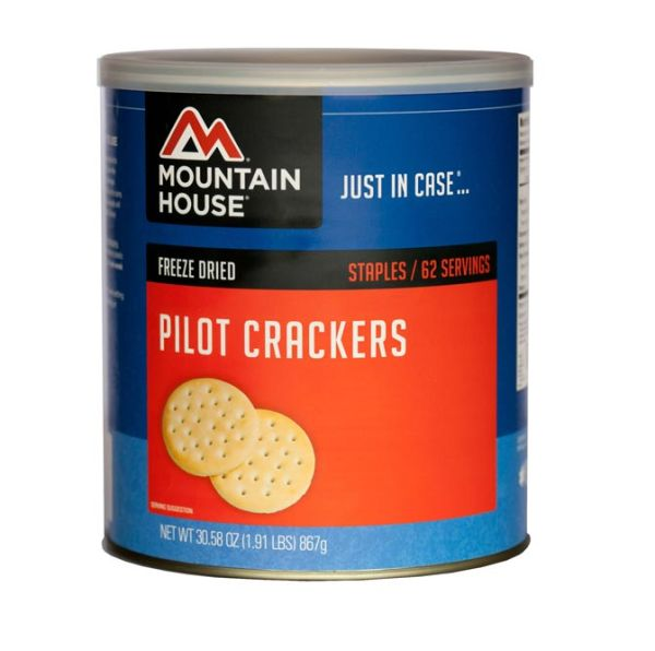 6 PACK - Mountain House Pilot Bread Crackers