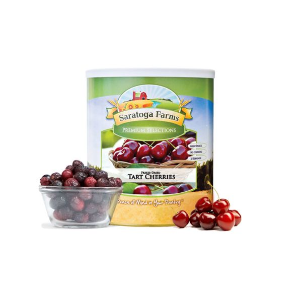 4 PACK - Saratoga Farms Freeze Dried Cherries